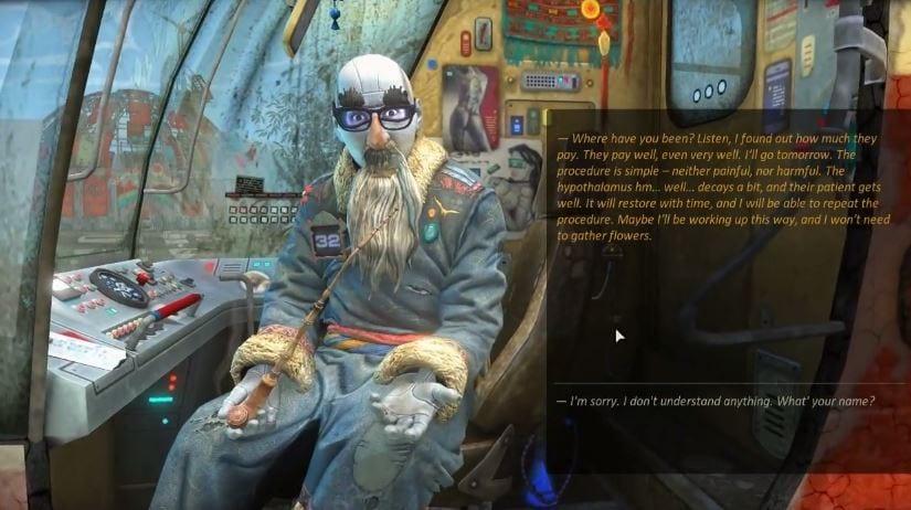 cradle, Cradle, il nuovo concetto di avventura grafica secondo i Russi