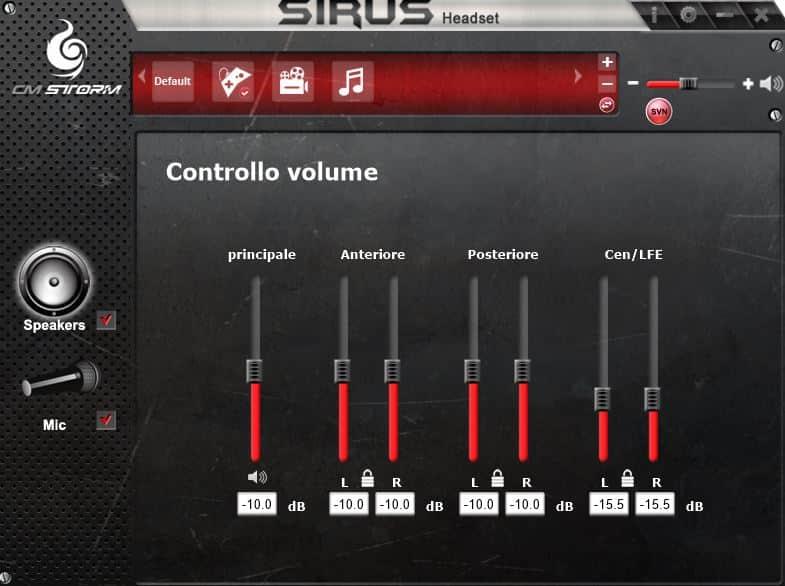 CM Storm Sirus, CM Storm Sirus – Recensione