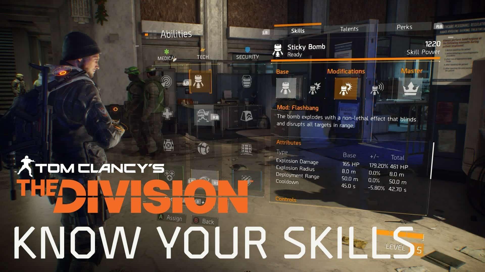 Tom Clancy's The Division, arriva un trailer delle skill