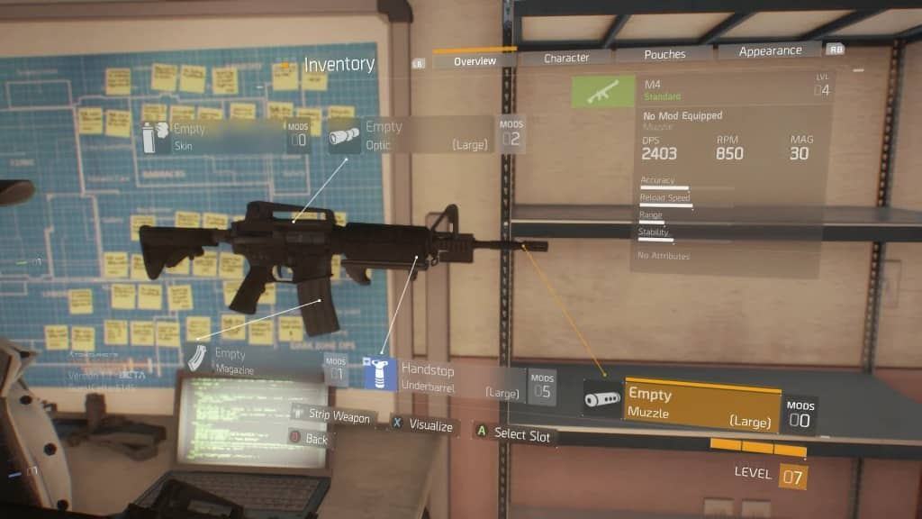 Tom Clancy's The Division ,ecco l'elenco completo delle armi