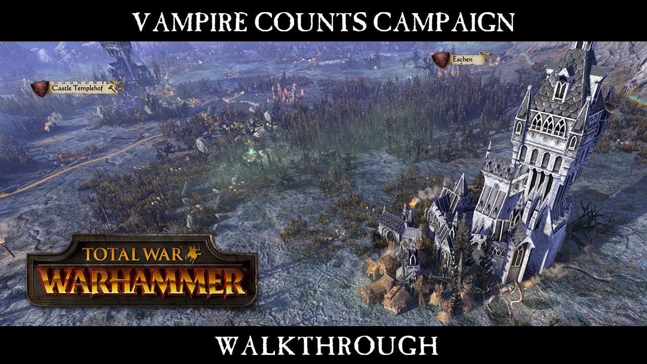 Total War: WARHAMMER – La campagna dei Conti Vampiri nel nuovo gameplay
