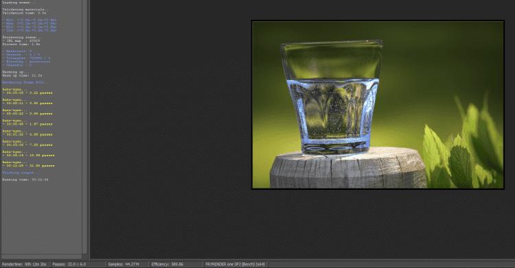 Fry Bench rendering