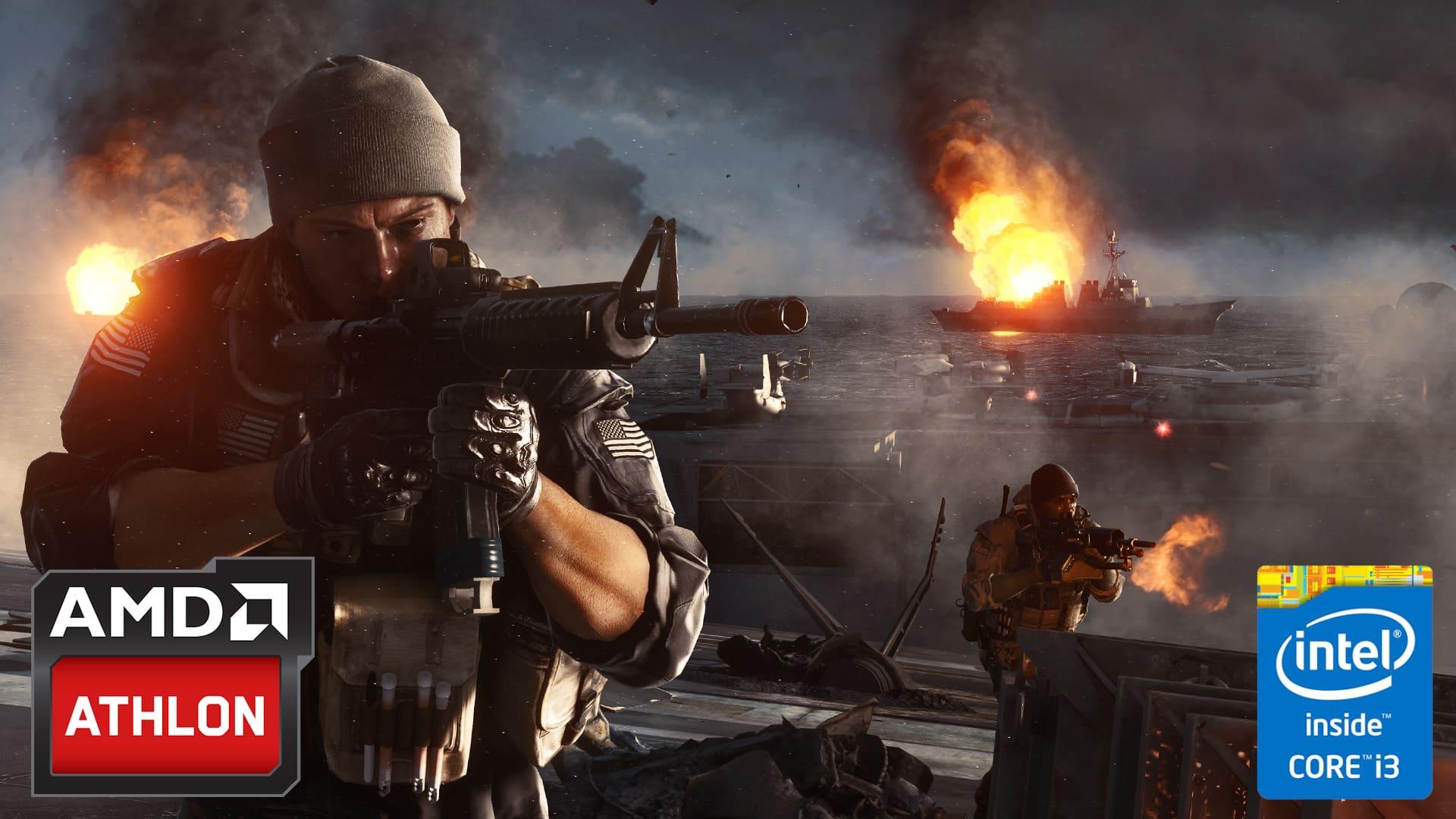 AMD vs Intel – Video confronto – Battlefield 4 GTX 950