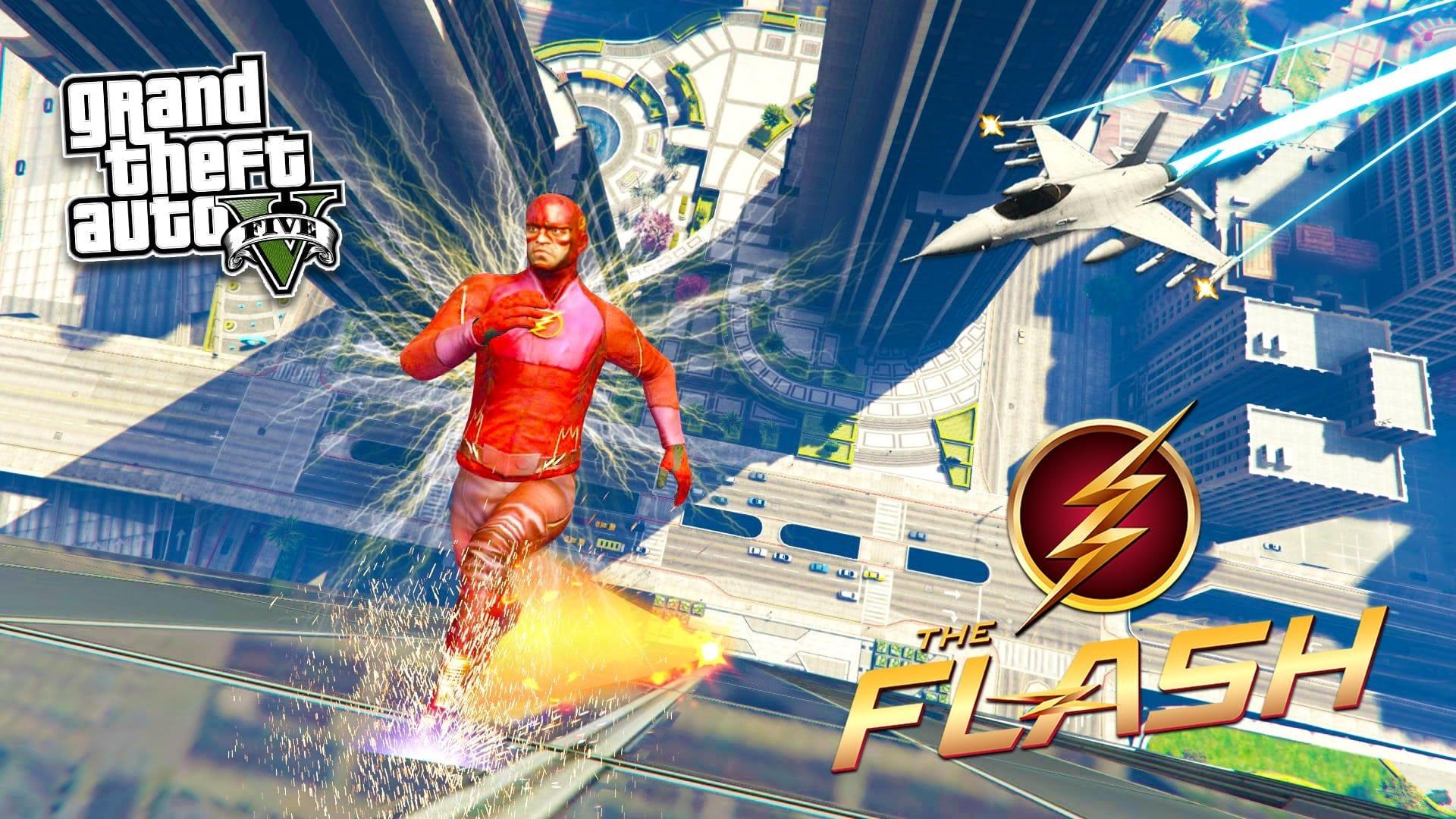 Una mod di GTA V ci permette di essere Flash