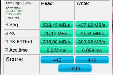 as ssd 850 pro