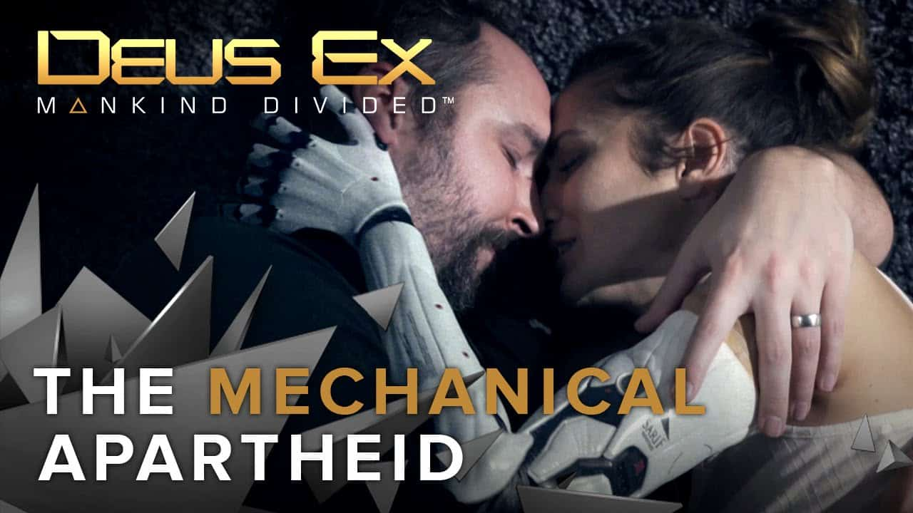 "Deus Ex: Mankind Divided - Live Action Trailer ""Apartheid Meccanica"""
