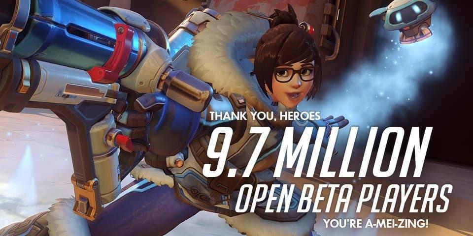 L'open beta di Overwatch raggiunge i 9,7 Milioni di giocatori