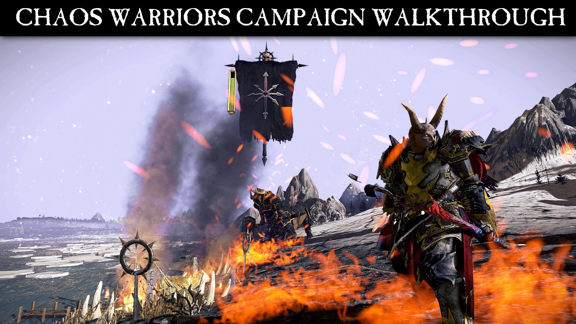 Total War: WARHAMMER – Nuovo video della Campagna Chaos Warriors