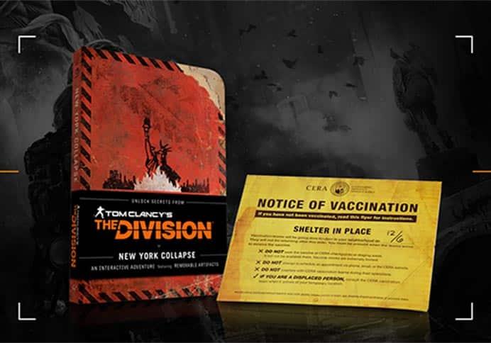 The Division, un romanzo uscirà assieme al gioco