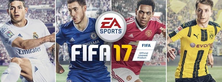 Annunciato FIFA 17 - Utilizza il Frostbite