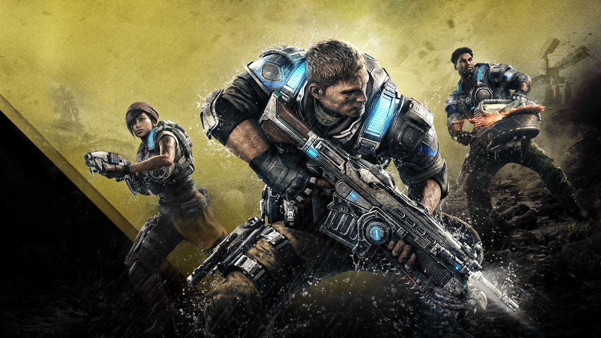 Gears of War 4: Nuovo video gameplay dall'E3