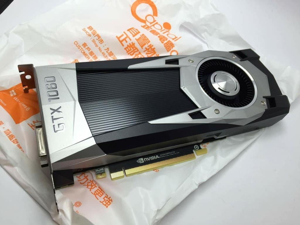 NVIDIA GeForce GTX 1060 in foto?
