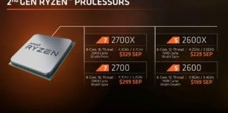 AMD Ryzen 2000 1 696x392 - AMD Ryzen 7 2700 4.1 GHz - Recensione