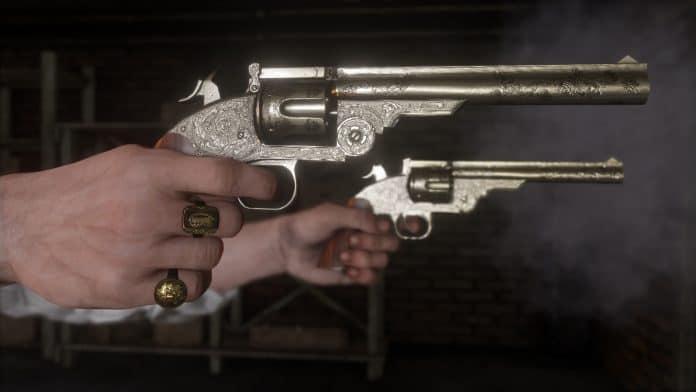 Red Dead Redemption 2 gameplay armi
