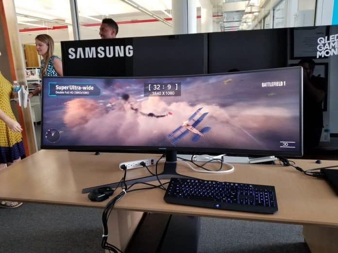 Monitor ultra wide