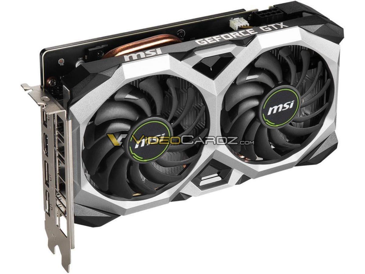 , MSI GeForce GTX 1660 Super Gaming X e Ventus XS in foto