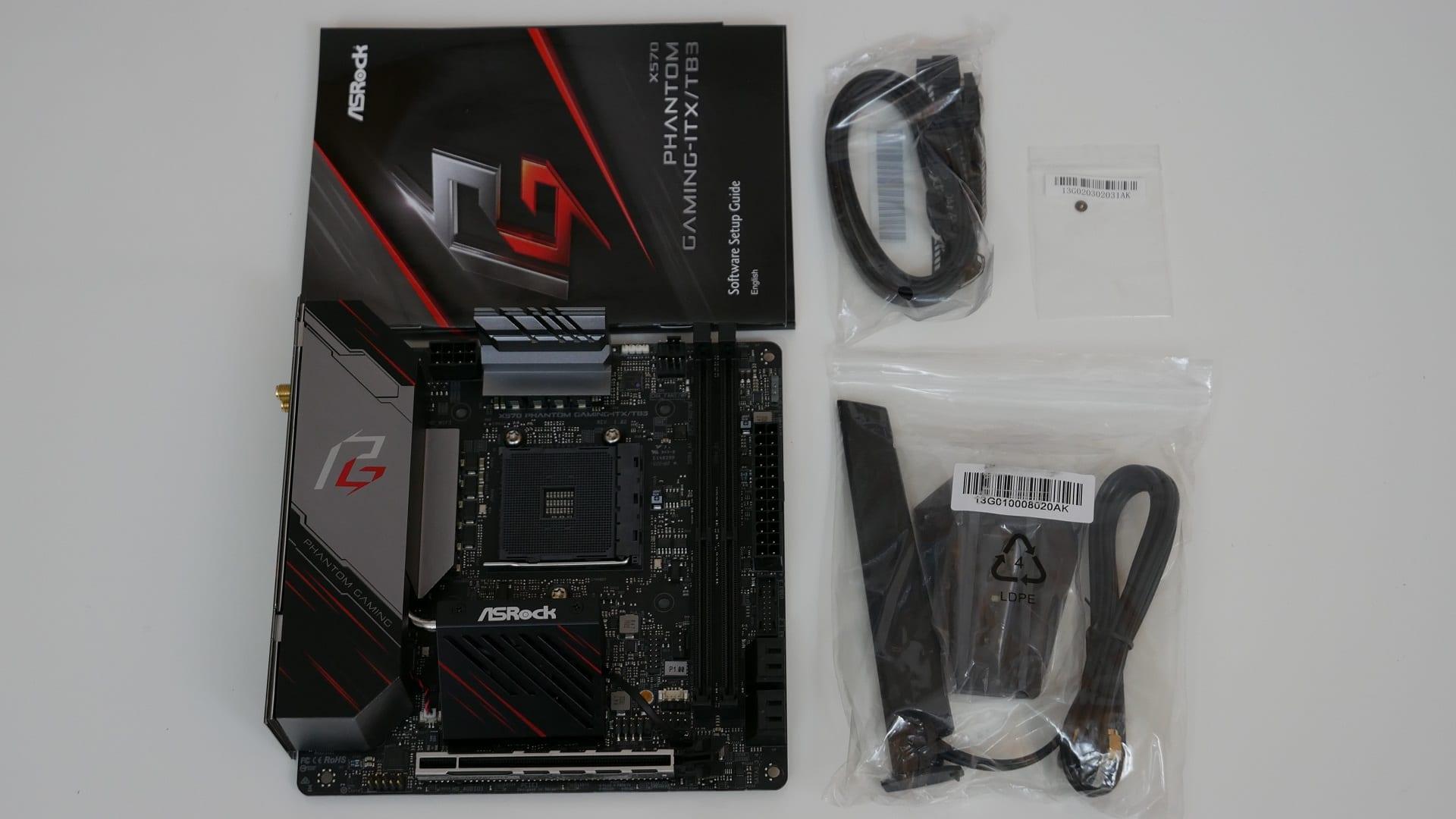 ASRock X570 Phantom Gaming-ITX/TB3 – Recensione