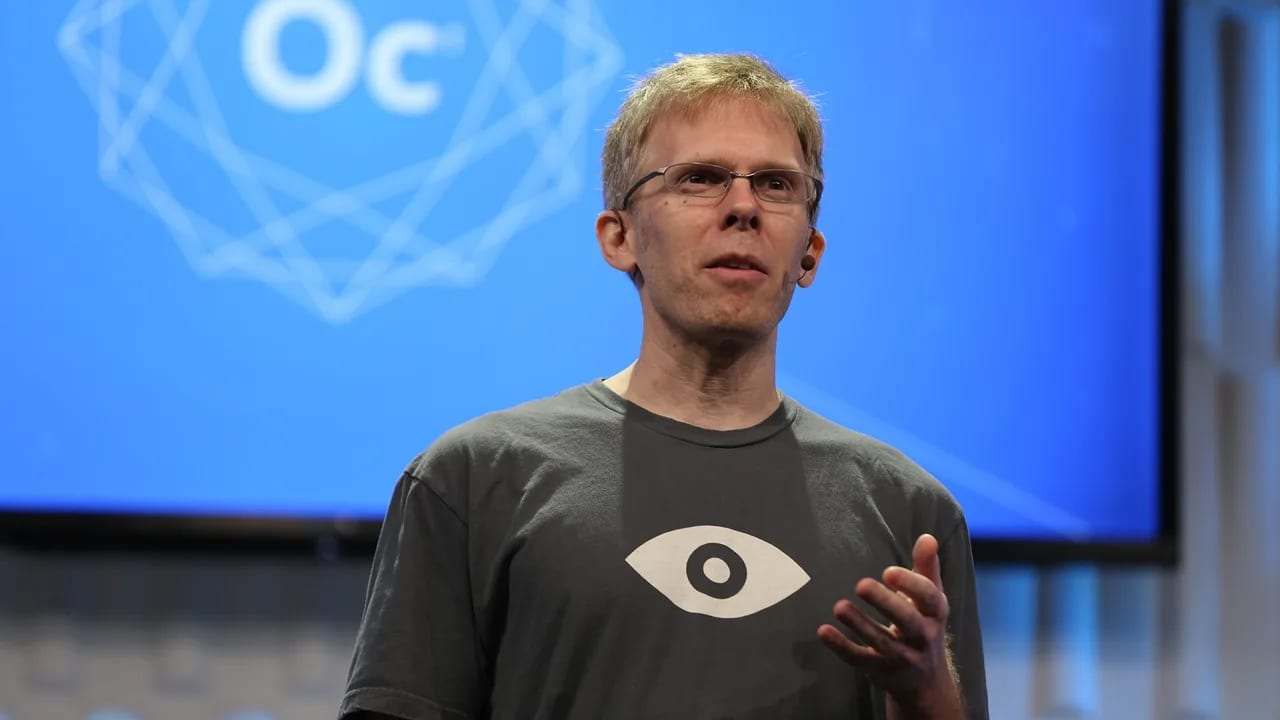 , John Carmack saluta Oculus, si concentrerà sull'intelligenza artificiale