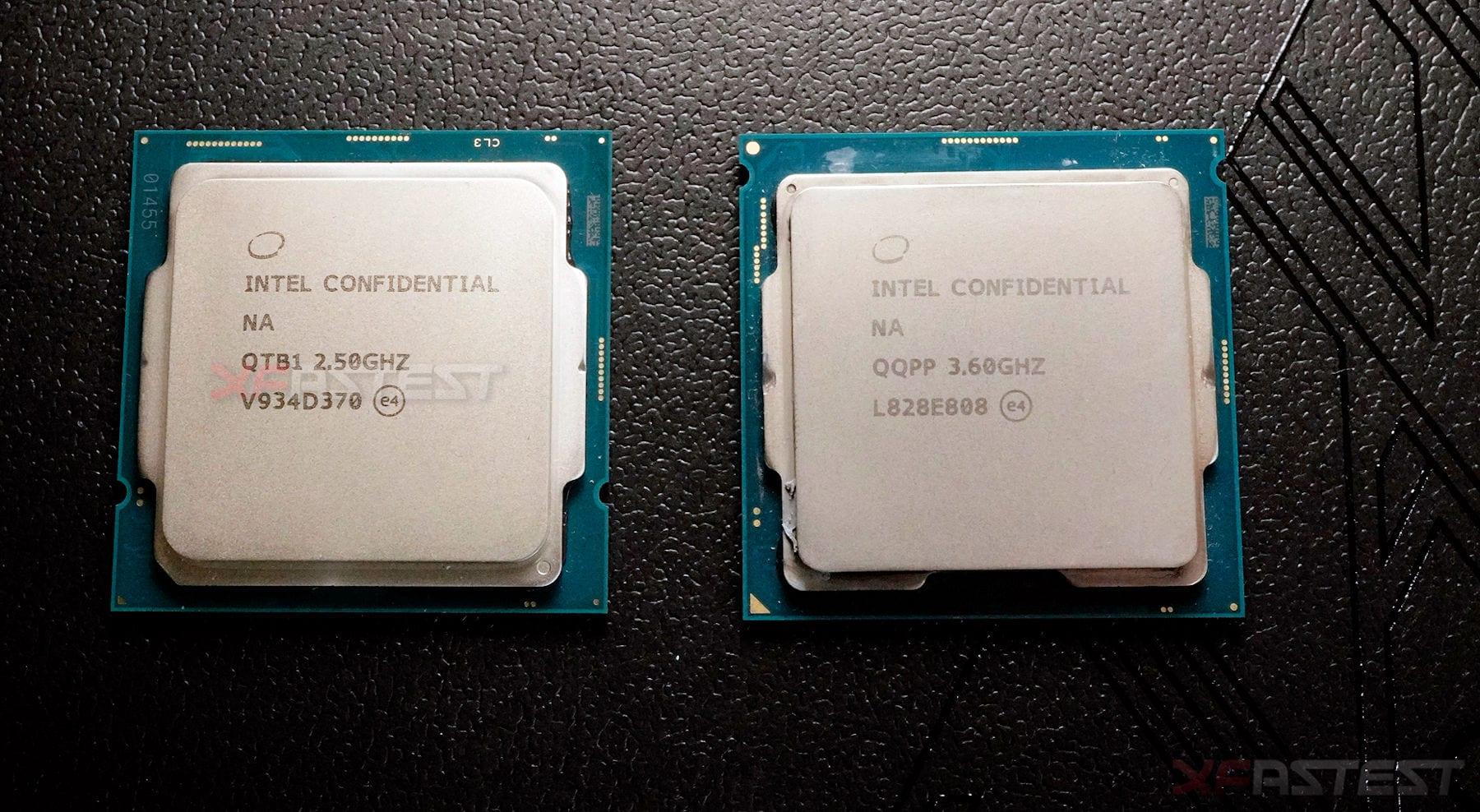 Intel Core i9-10900 – Prima foto della nuova CPU 10-core
