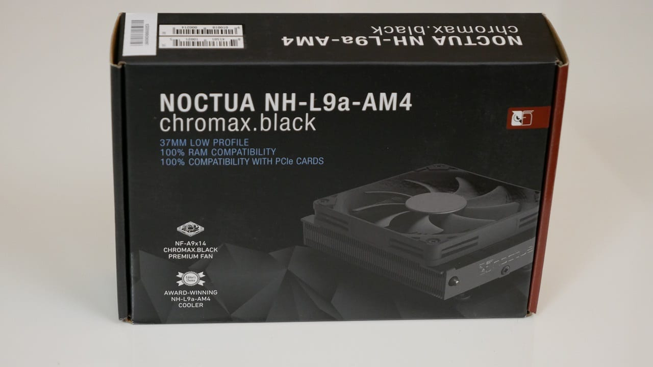 , Noctua NH-L9a-AM4 Chromax – Recensione