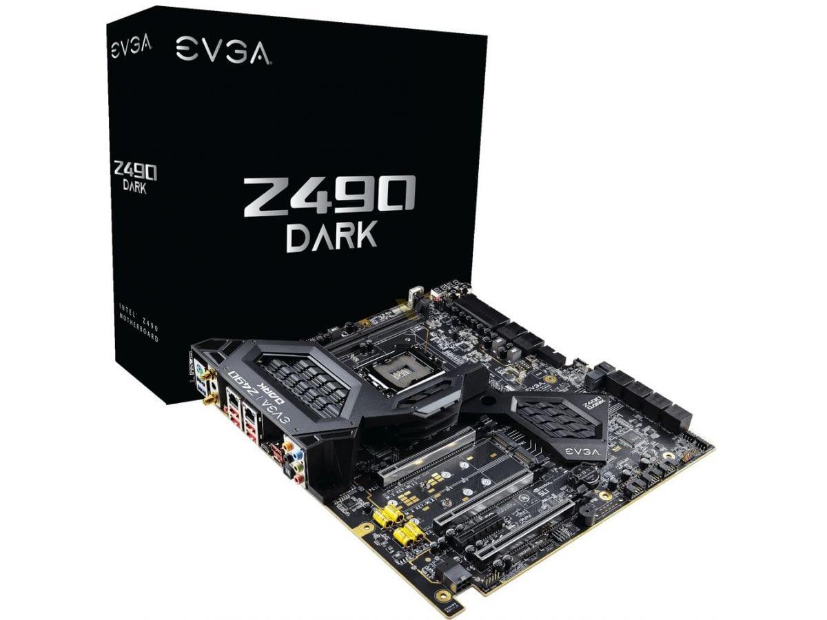 EVGA annuncia le schede Z490 DARK e Z490 FTW WIFI