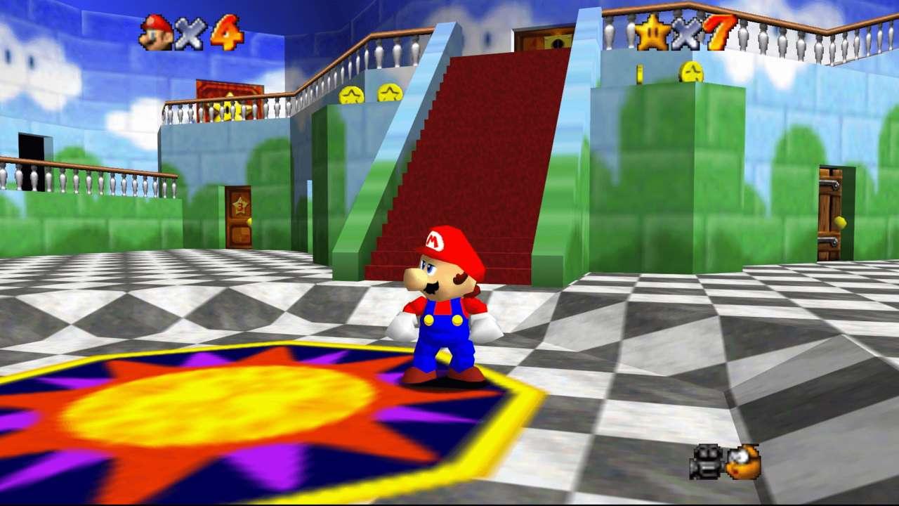 Nintendo sta cercando di rimuovere la versione nativa per PC di Super Mario 64