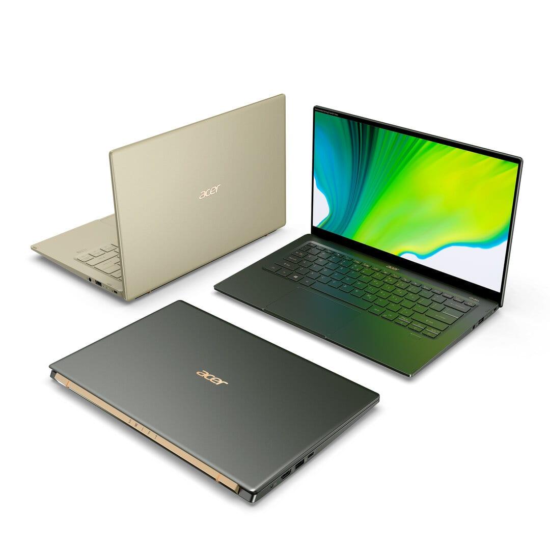 Il nuovo Acer Swift 5 con CPU Intel Tiger Lake e grafica Xe