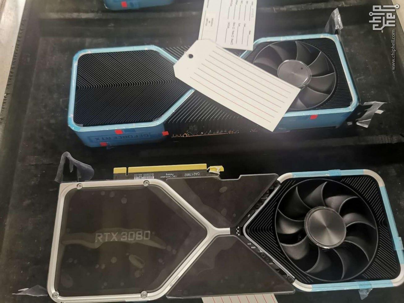 GeForce RTX 3080 – Prime foto della nuova GPU NVIDIA
