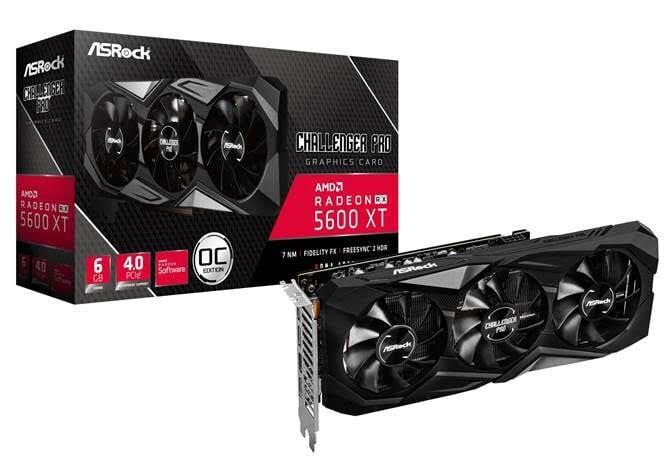 ASRock lancia la Radeon RX 5600 XT Challenger Pro 6G OC