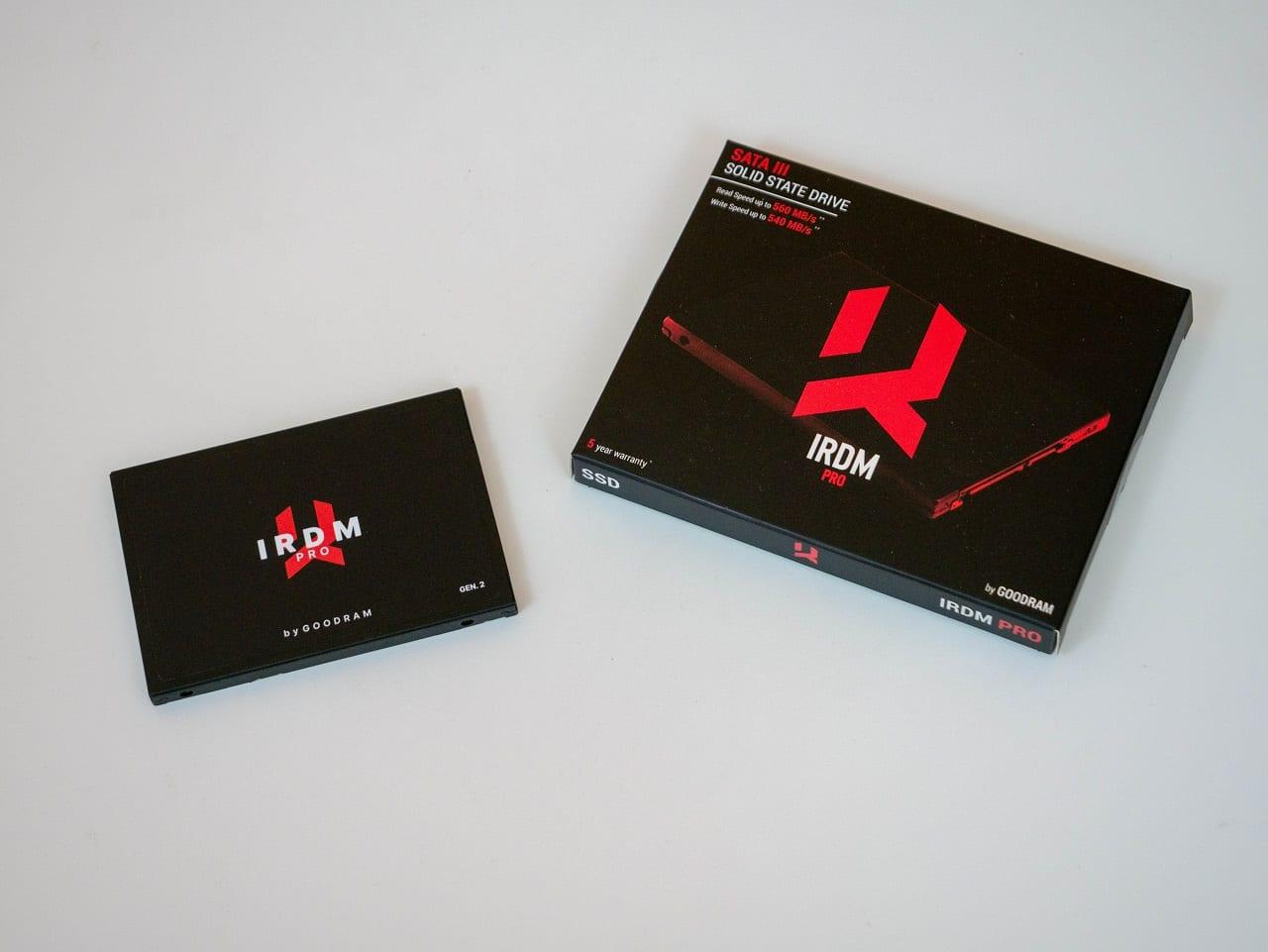 , Goodram IRDM PRO Gen.2 Recensione – Un SSD SATA veloce e affidabile