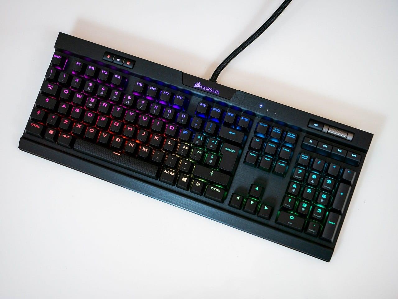 , CORSAIR K70 RGB MK.2 Recensione – Una tastiera meccanica sempre con un suo fascino