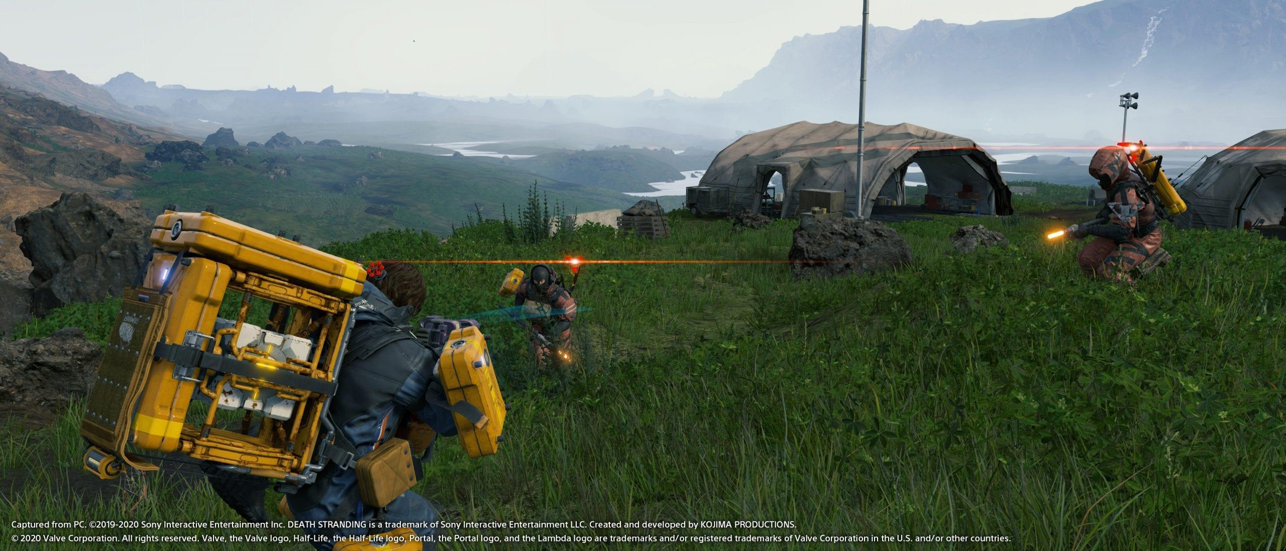 DEATH STRANDING , confermato il DLSS 2.0 con nuove immagini di gioco