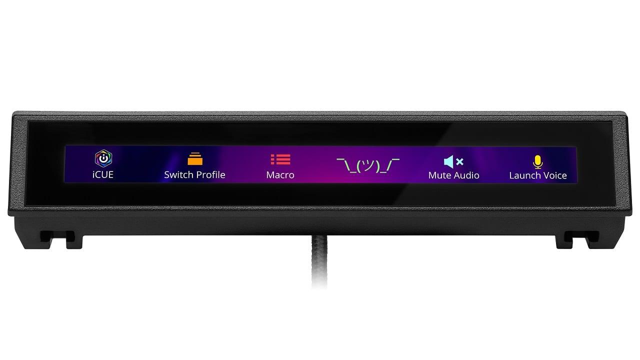 CORSAIR presenta il monitor touch-screen iCUE NEXUS