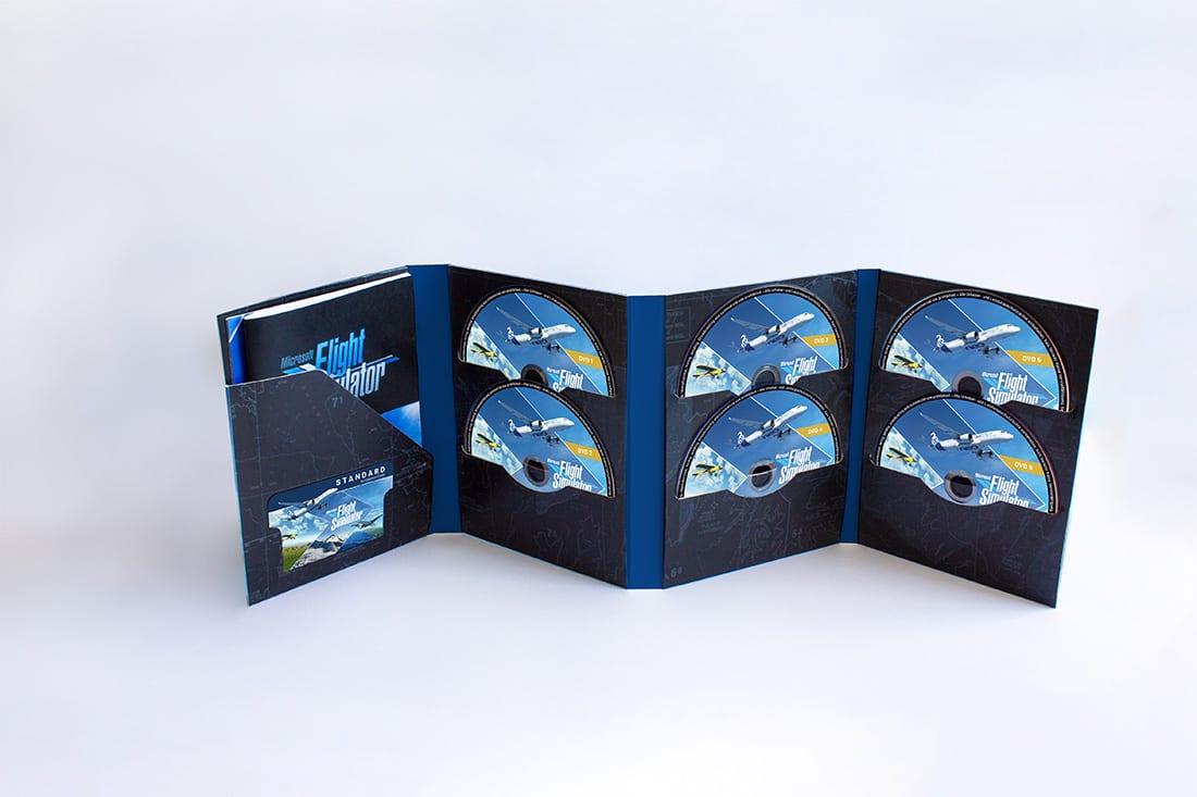 L'edizione fisica di Microsoft Flight Simulator conterrà la bellezza di 10 dischi