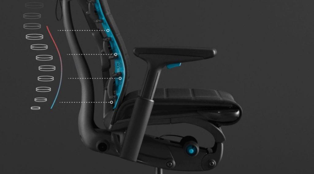 sedia gaming ergonomia