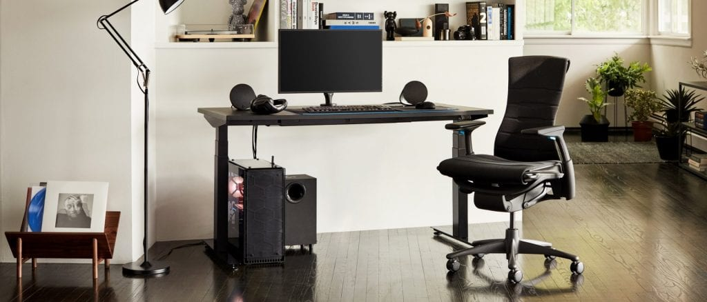 migliori sedie da gaming - logitech embody herman miller