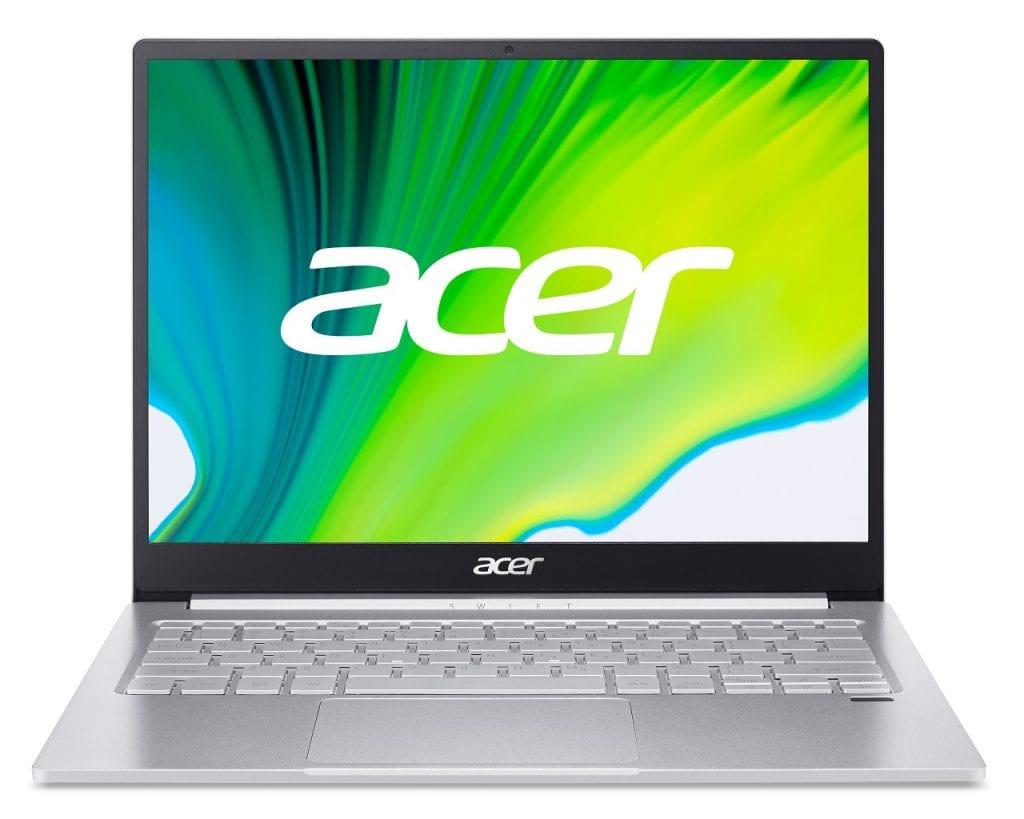 Acer Swift 5 e Swift 3, i nuovi notebook con CPU Intel Core 11° gen