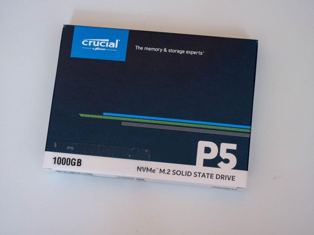 Crucial P5 1 TB M.2 NVMe SSD – Recensione