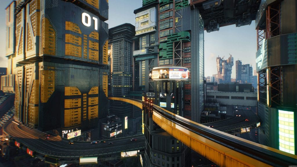CD Projekt RED mostra nuovi screenshot di Cyberpunk 2077