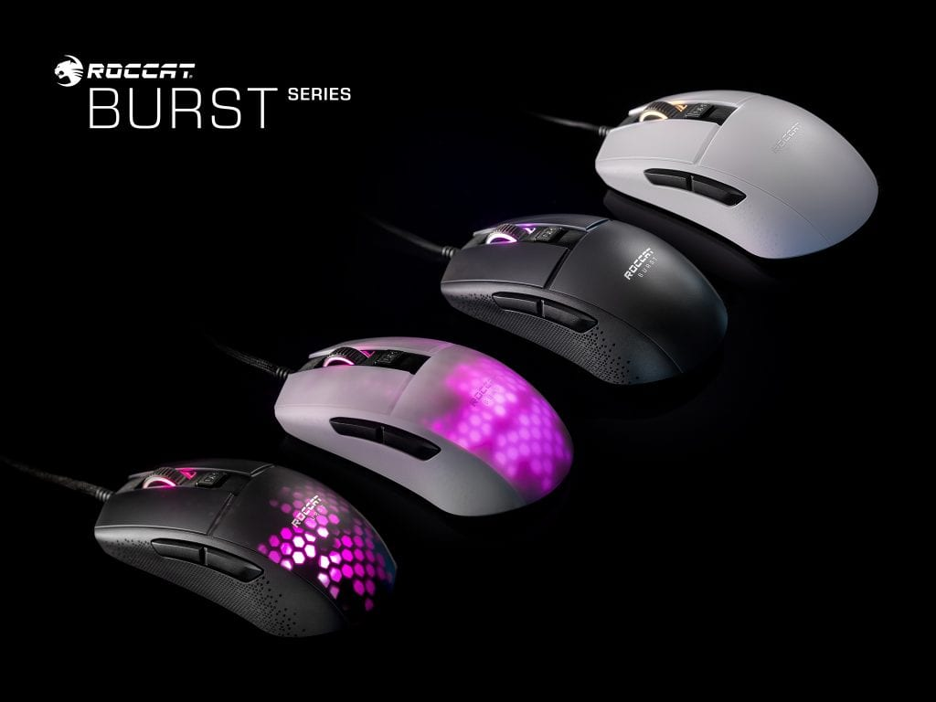 Arriva il nuovo Mouse da Gaming Roccat Burst Pro