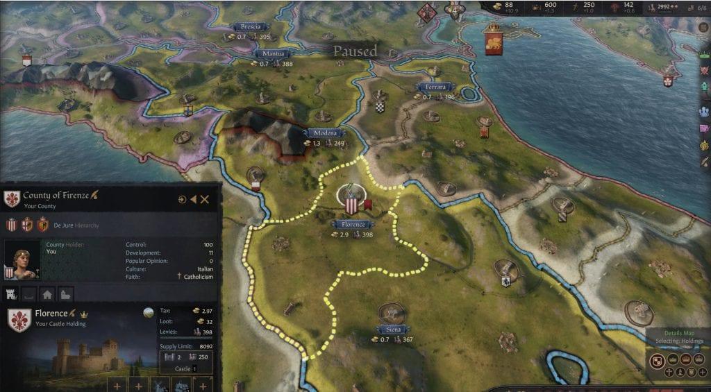 Crusader Kings III Recensione