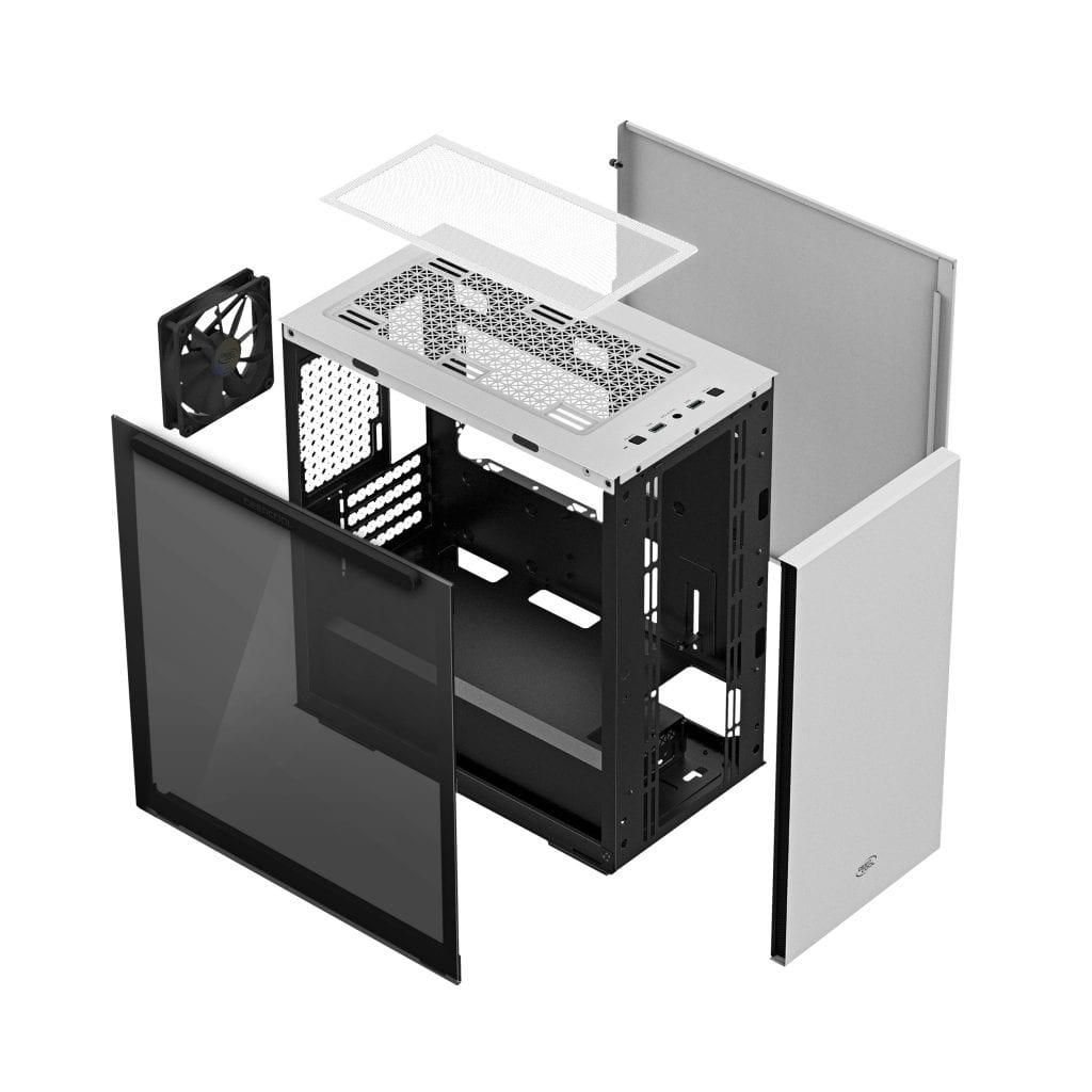 DeepCool rilascia la nuova serie di case Micro-ATX MACUBE 110