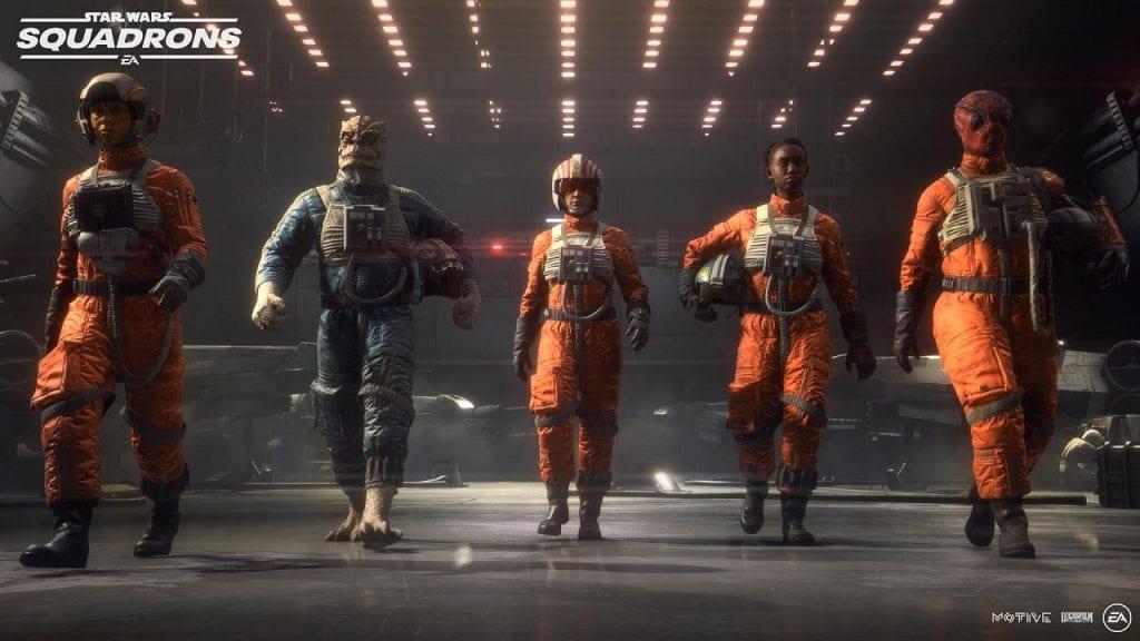 Star Wars: Squadrons farà uso di Denuvo come protezione