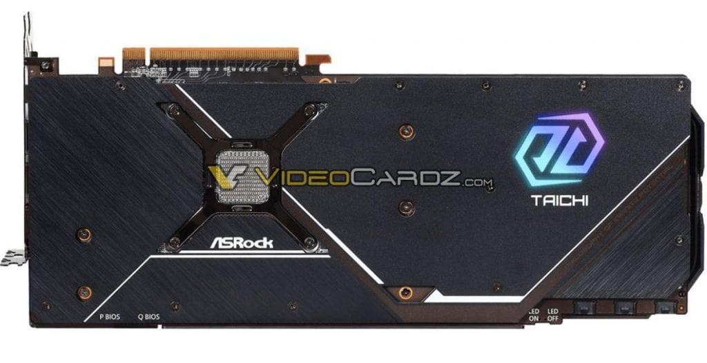 ASRock Radeon RX 6800 XT Taichi in foto