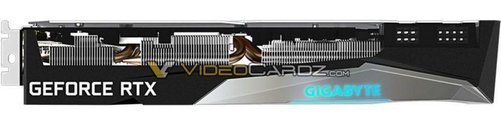 GIGABYTE GeForce RTX 3060 Ti GAMING OC Pro in foto