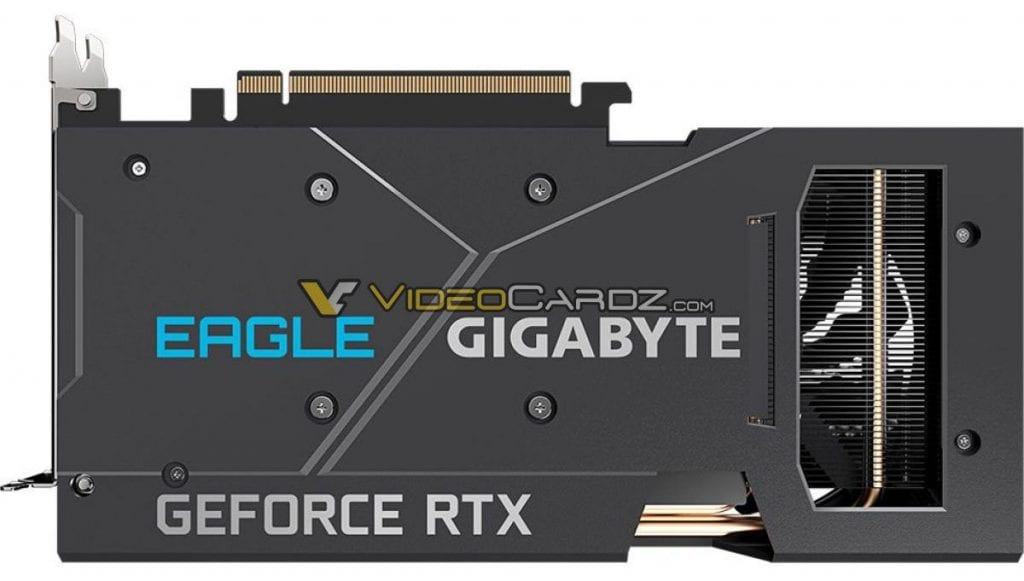 GIGABYTE GeForce RTX 3060 Ti EAGLE OC in foto