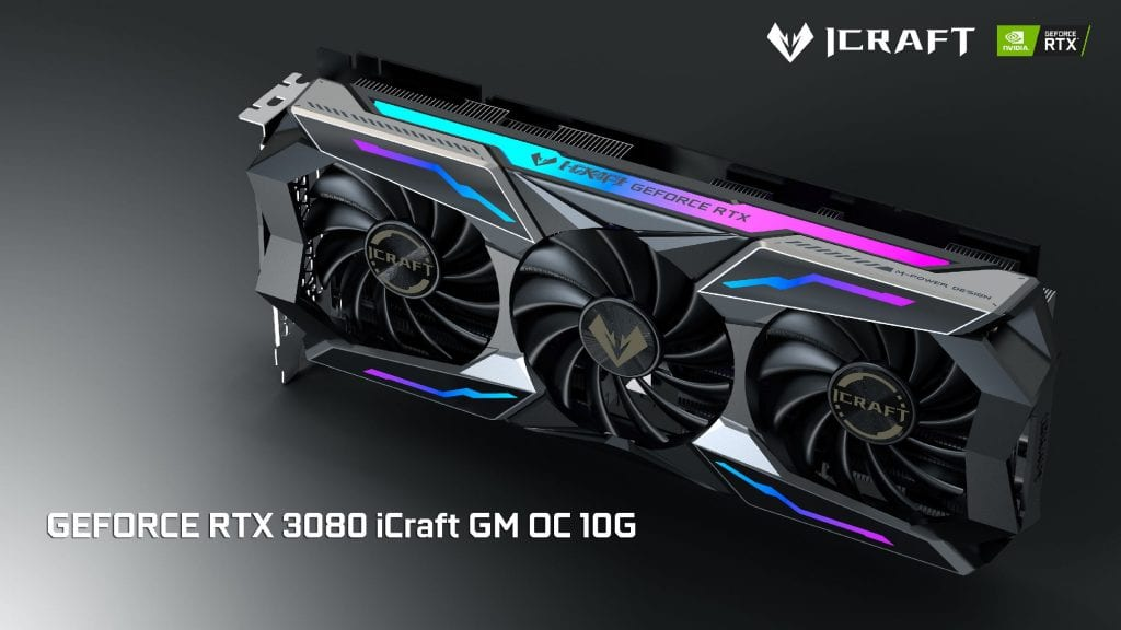 Maxsun GeForce RTX 3080/3070 iCraft – Le nuove schede in stile Anime