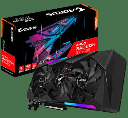 GIGABYTE lancia le sue Radeon RX 6800 e RX 6800 XT